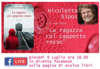 """""""La ragazza col cappotto rosso"""": il 9 Luglio presentazione on-line di Evolvo Libri"""