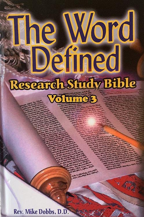 Ebook- The Word Defined Volume Three