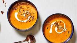 Try this yummy soup to warm you up!