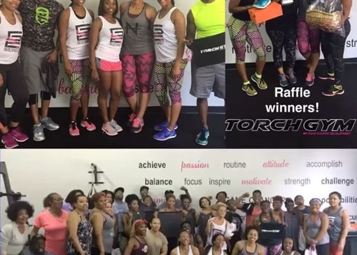 Today's Grand Opening of #TorchGym was e