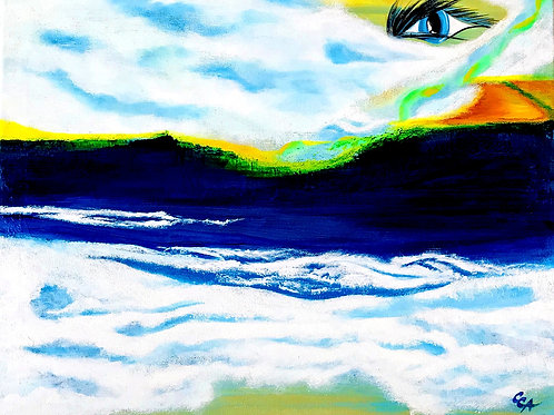 My Neverland  - painting by Carmen A. Cisnadean (Digital)