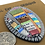 Thumbnail: Colorful patchwork button