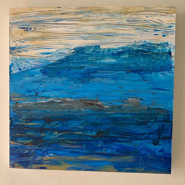 Anything Blue 12x12  $40 per week