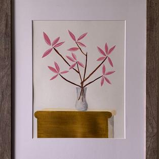 Pink bamboo 18x22 $60 per week