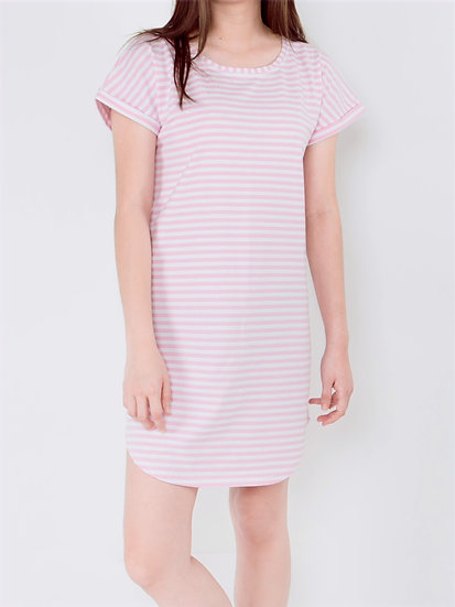 Alice Striped Lounge Dress