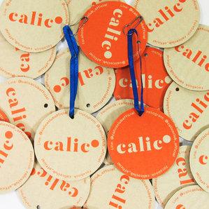 Calico Hang Tag