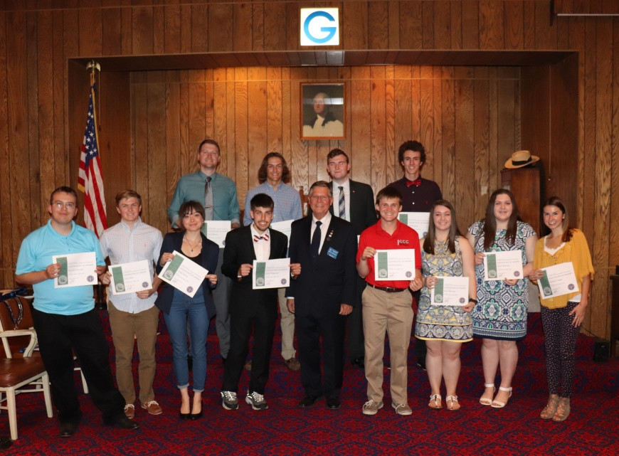OP Masons Award 12 Scholarships for 2017