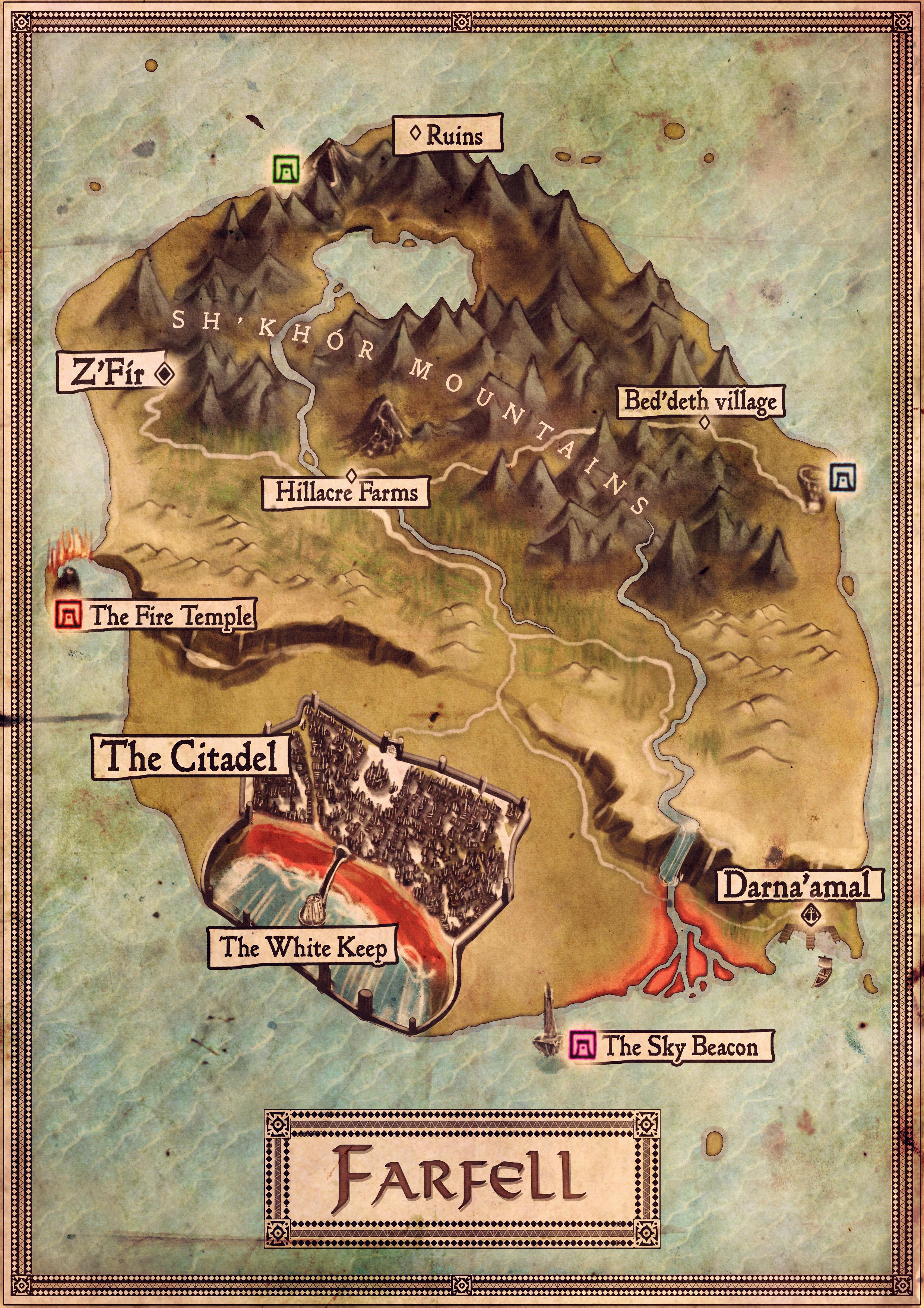 Map of Farfell