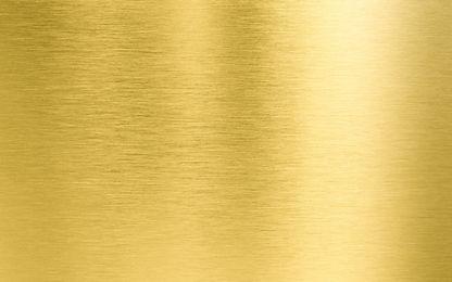Planchas de acero de oro