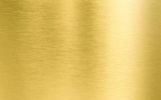Plaque en acier doré