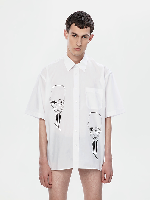 Limited Edition Oversized White Shirt | The Klassical Kreature