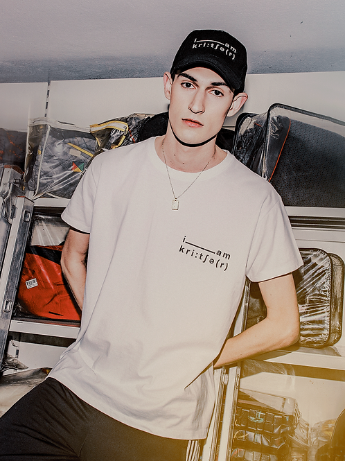 Unisex White T-Shirt | i am kreature
