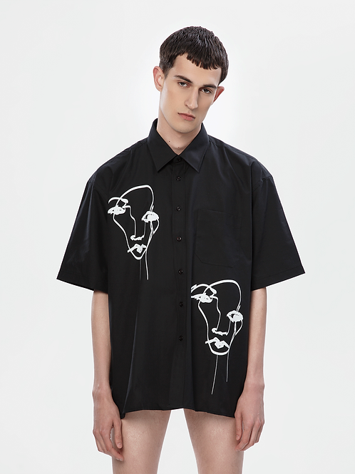 Limited Edition Oversized Black Shirt | The Kolorful Kreature