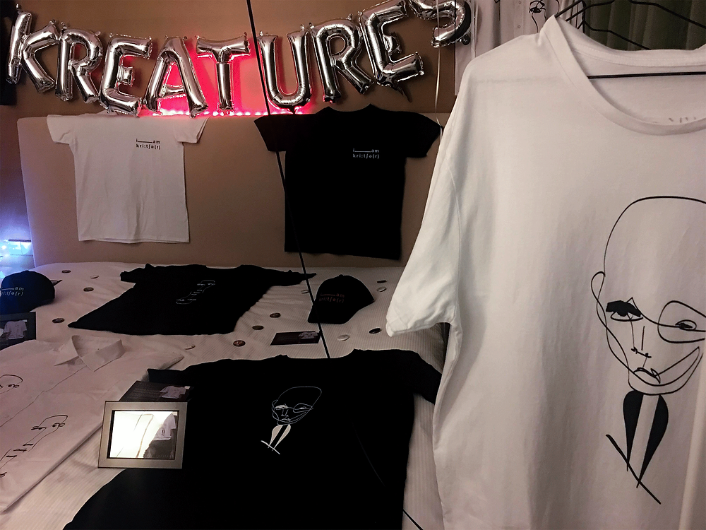 Kay Kreatures Unisex Longline Tshirts Collection