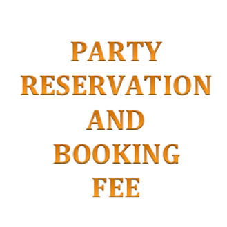 Book a Party Fee