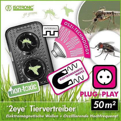 """Комбиниран уред """"Две очи"""" за защита от комари и мухи"""