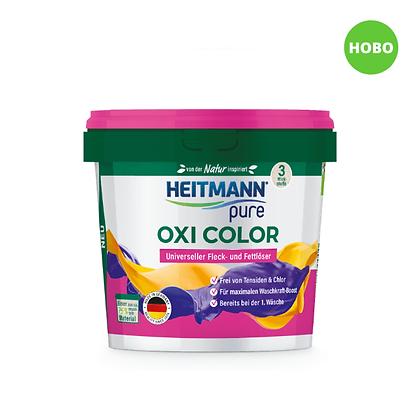 HEITMANN pure Oxi прах Color против петна и мазнини, 500 г