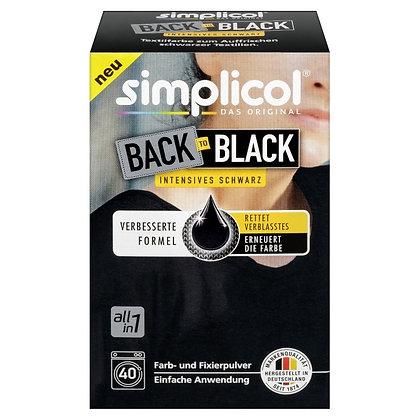 Back-to-Black Възстановяваща боя за текстил, черно