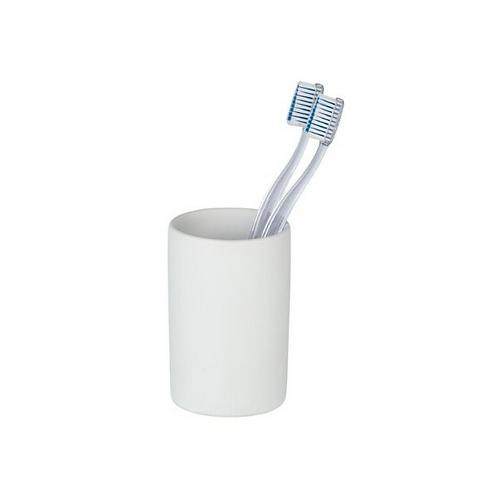 Wenko Polaris поставка за четка за зъби, бял мат