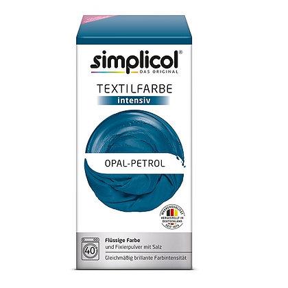 Течна интензивна текстилна боя, петрол