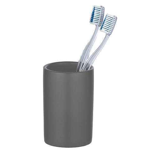 Wenko Polaris поставка за четка за зъби, сив мат