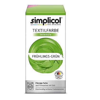 Течна интензивна текстилна боя, пролетно зелено