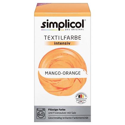 Течна интензивна текстилна боя, манго-оранжево