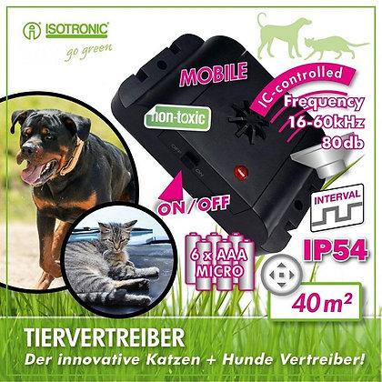 Mобилен уред с ултразвук против кучета и котки