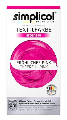 Течна интензивна текстилна боя, розова