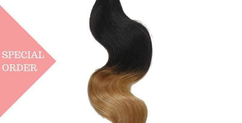 Honey Blonde Ombre Silky Straight Bundles