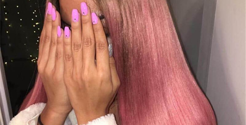Pre-order Ombre Pink Silky Straight Lace Front Wig