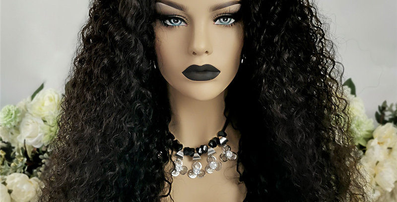 Water Wave Silk Base Closure Wig