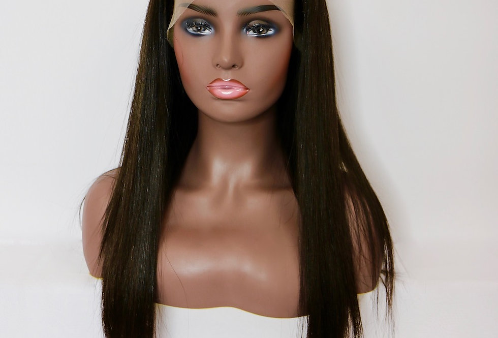 10A Grade HD Lace 13X6 Lace Front Wig Silky Straight