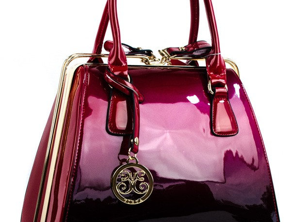 LIMITED EDITION FUCHSIA OMBRÉ RED PURSE