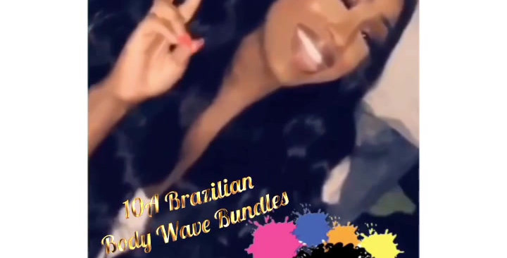 Brazilian Body Wave 4 Bundle Deals + Closure