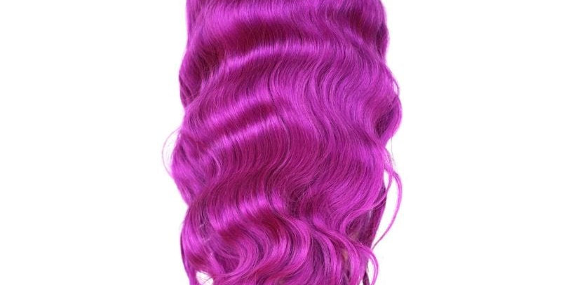 Purple Pop Front Lace Front Wig