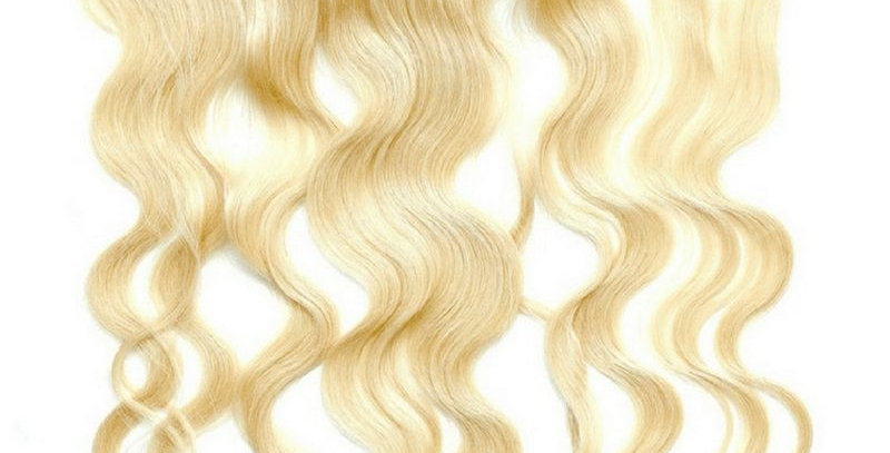 Brazilian Blonde Body Wave Lace Frontal