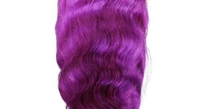 Purple Lush Front Lace Front Wig