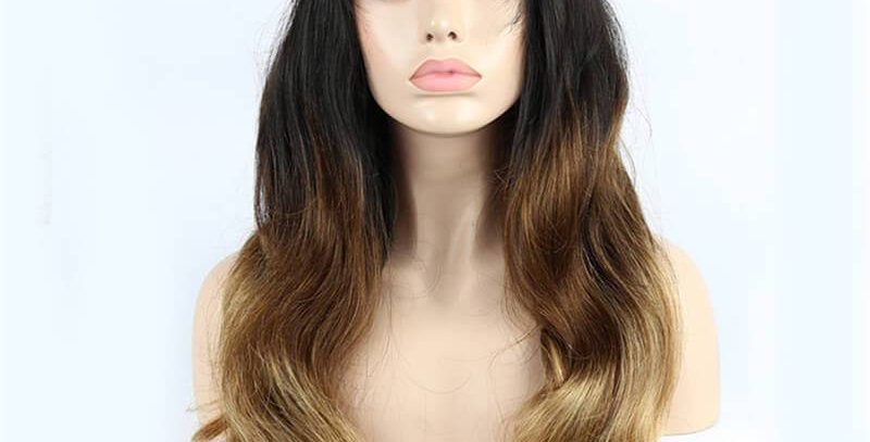 Pre-order 1B Ombre Body Wave Lace Front Wig