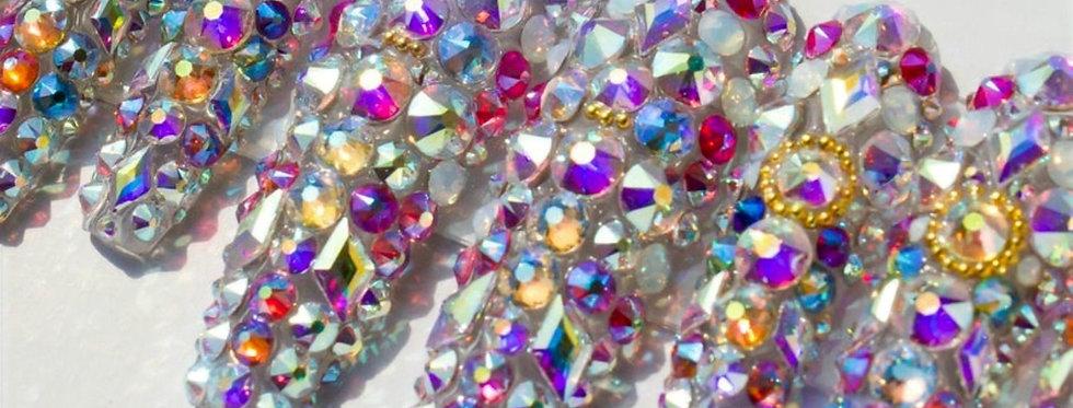 Jolei NY Gel Press On Swarovski Crystal Nails 💅🏾