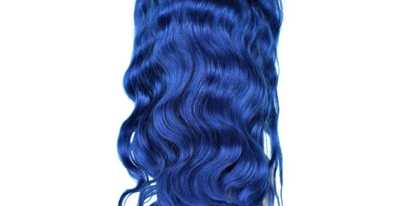 BLUE DIAMOND LACE FRONT WIG
