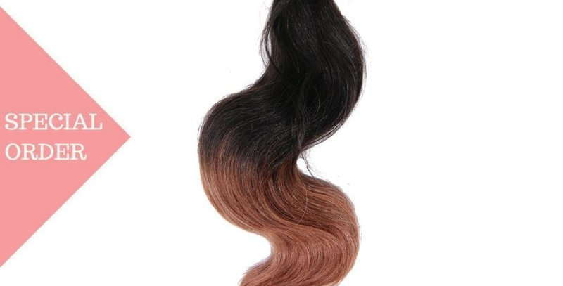 Copper Ombre Body Wave 3 Bundle Deals