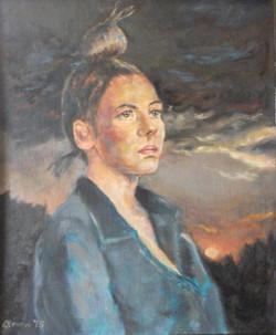 Tara-at-Sunset