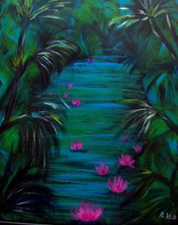 amazonian-water-lillies