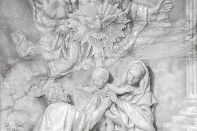 Detail of Altar Piece designed by Cody S