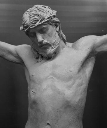 Crucifix, 110 cm, Fiberglass, 2021.