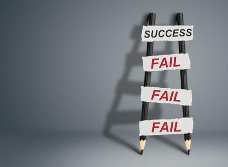 Failure often precedes success