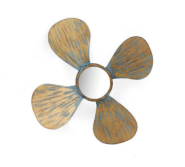 Διακοσμητική προπέλλα με καθρέπτη, δ.50,5cm | ZAROS