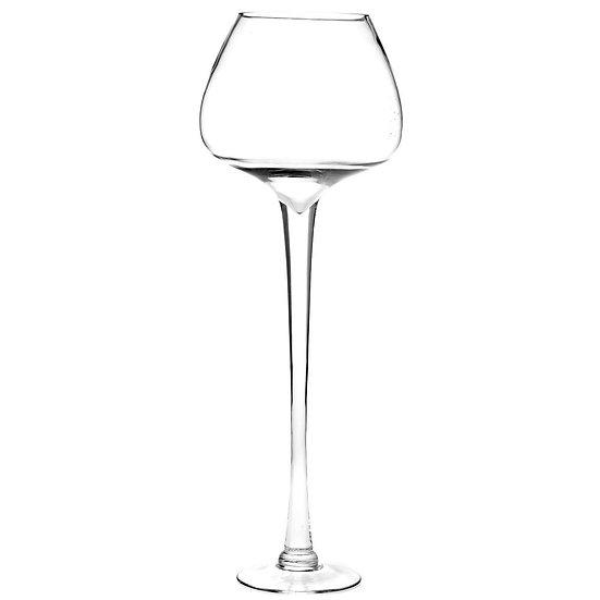 Γυάλινο βάζο ποτήρι κονιάκ διάφανο iliadis