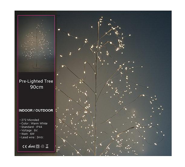 Φωτιζόμενο Δένδρο,272 microled, 90cm   ZAROS
